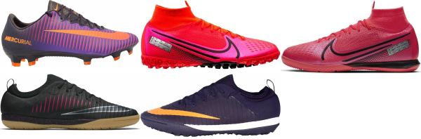 buy purple nike soccer cleats for men and women