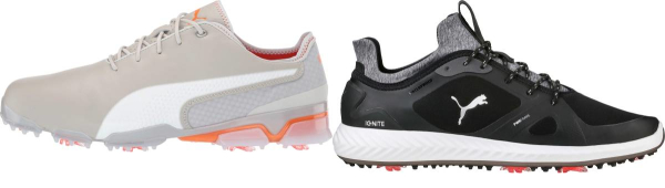 buy purple puma golf shoes for men and women