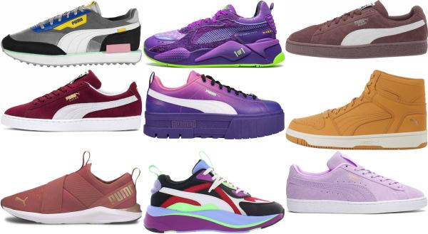 buy purple puma sneakers for men and women