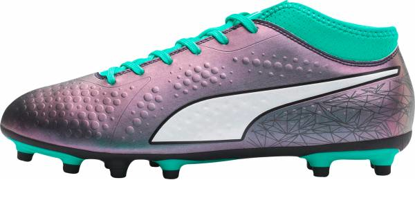 buy purple puma soccer cleats for men and women