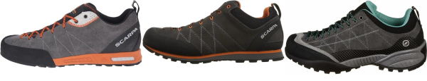 buy purple scarpa approach shoes for men and women