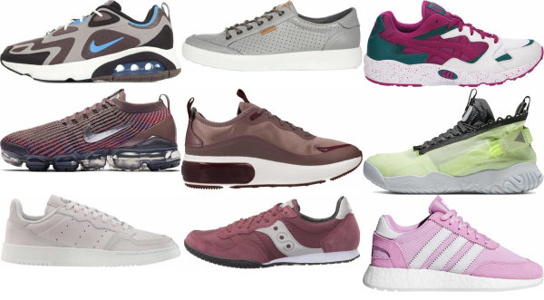buy purple sneakers for men and women