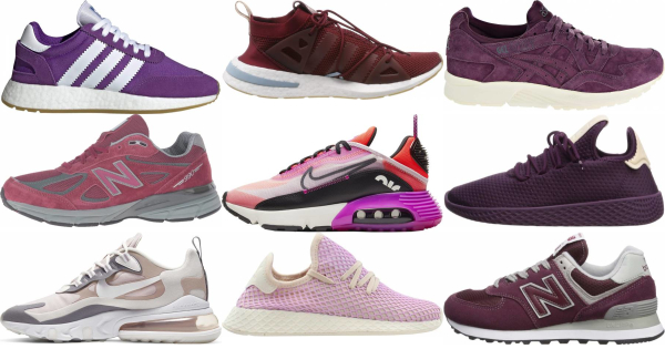 buy purple spring sneakers for men and women