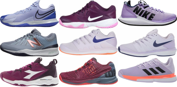 buy purple tennis shoes for men and women