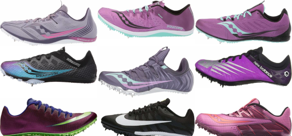 buy purple track & field shoes for men and women