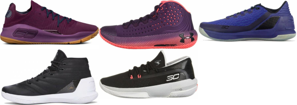 buy purple under armour basketball shoes for men and women