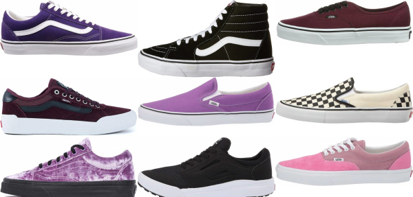 buy purple vans sneakers for men and women