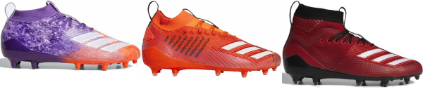 buy red adidas football cleats for men and women
