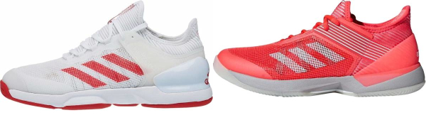 buy red adidas tennis shoes for men and women