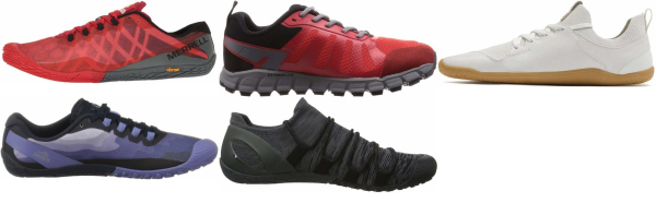 buy red barefoot running shoes for men and women