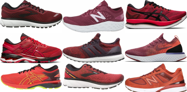 buy red bunions running shoes for men and women