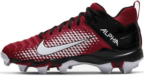 buy red cheap football cleats for men and women