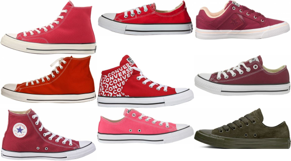 buy red converse sneakers for men and women