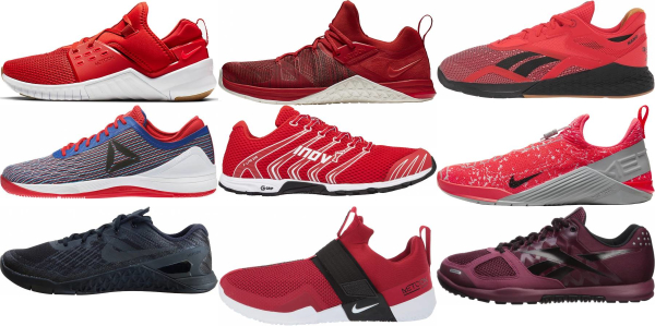 buy red crossfit shoes for men and women