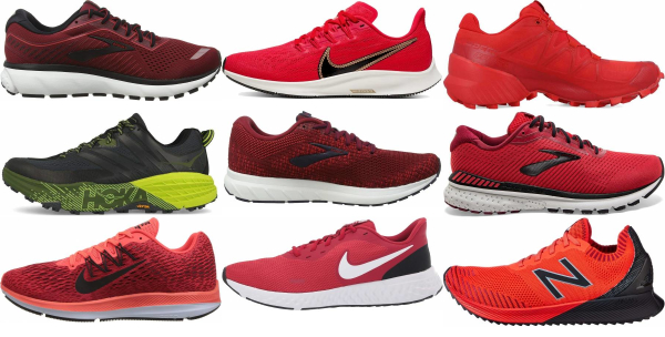 buy red daily running shoes for men and women
