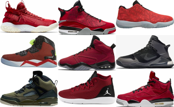buy red jordan sneakers for men and women