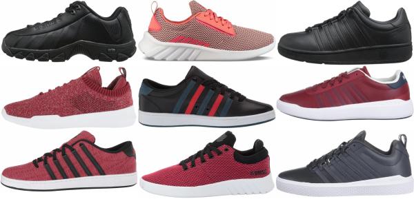 buy red k-swiss sneakers for men and women