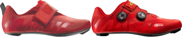 buy red mavic cycling shoes for men and women