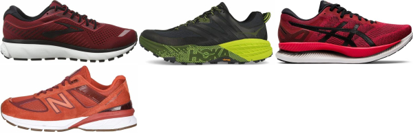 buy red morton's-neuroma running shoes for men and women