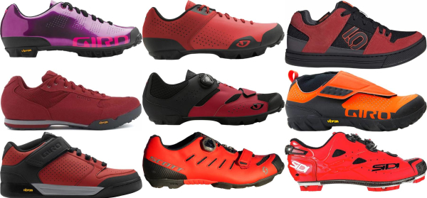 buy red mountain cycling shoes for men and women