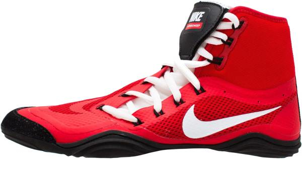 buy red nike wrestling shoes for men and women