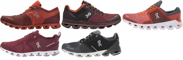 buy red on running shoes for men and women