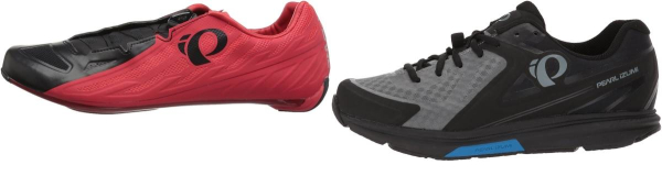 buy red pearl izumi cycling shoes for men and women