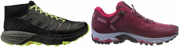 buy red speed hiking shoes for men and women