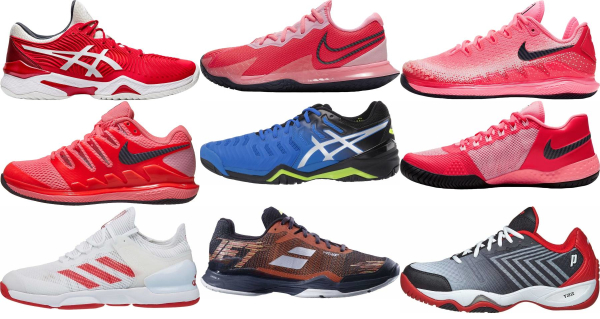 buy red tennis shoes for men and women