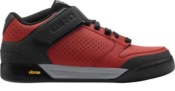 buy red vibram cycling shoes for men and women
