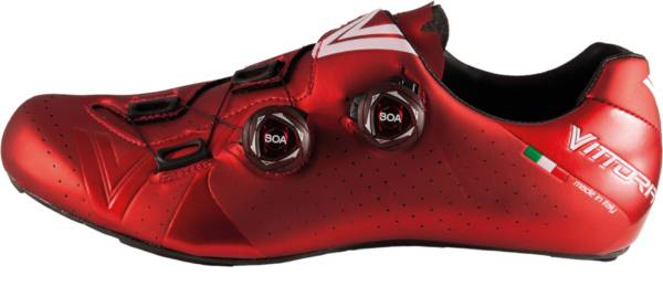 buy red vittoria cycling shoes for men and women