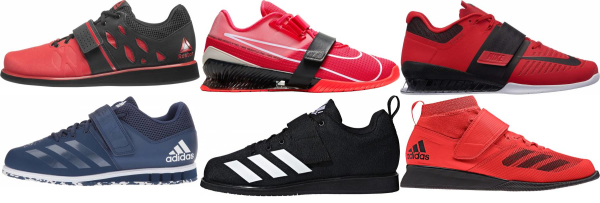 buy red weightlifting shoes for men and women