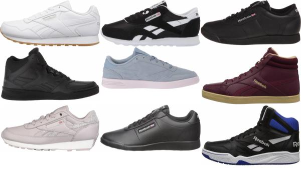 Save 46% on Reebok Cheap Sneakers (23