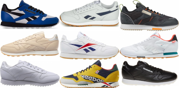 buy reebok classic leather sneakers for men and women