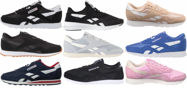 buy reebok classic nylon sneakers for men and women