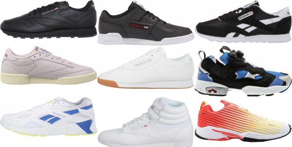 buy reebok classic sneakers for men and women