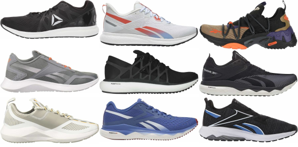 buy reebok cushioned running shoes for men and women