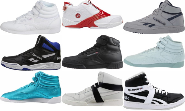buy reebok high top sneakers for men and women