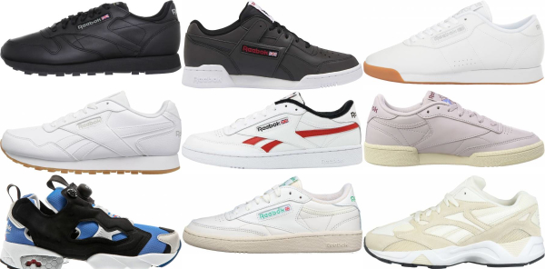 buy reebok leather sneakers for men and women