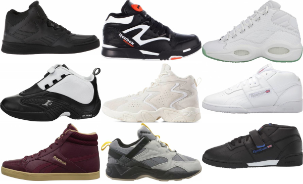 buy reebok mid top sneakers for men and women