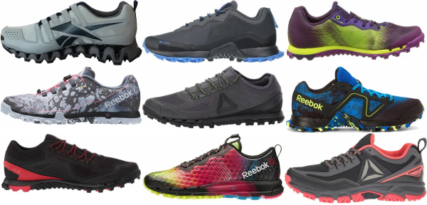 buy reebok trail running shoes for men and women
