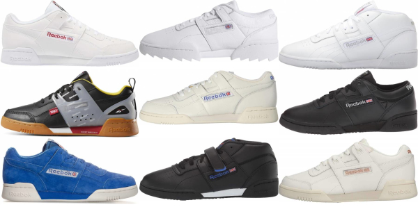 buy reebok workout sneakers for men and women