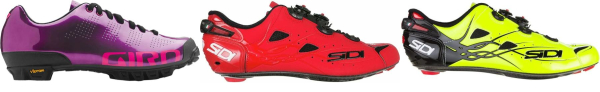 buy reflective red cycling shoes for men and women
