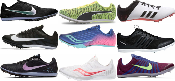 buy removable spikes track & field shoes for men and women