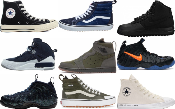 buy retro high top sneakers for men and women