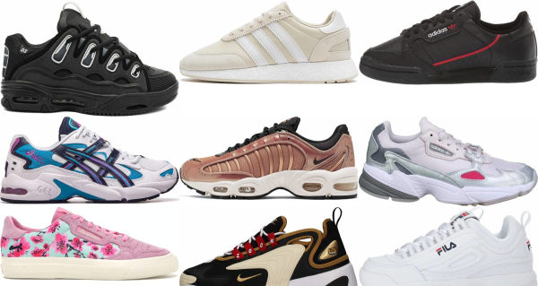 buy retro leather sneakers for men and women