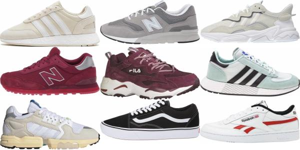 buy retro suede sneakers for men and women