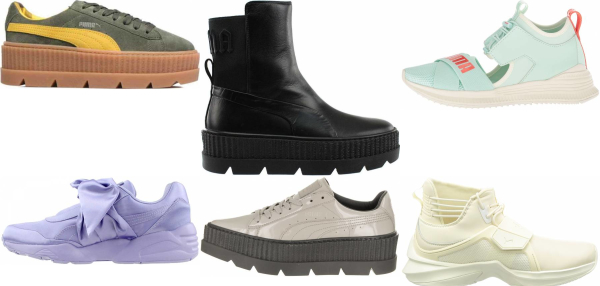 buy rihanna sneakers for men and women