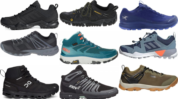 buy rubber sole speed hiking shoes for men and women