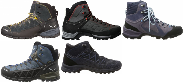 buy salewa hiking boots for men and women